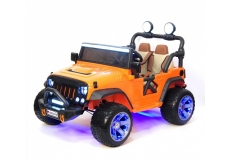 Электромобиль RiverToys Jeep A004AA
